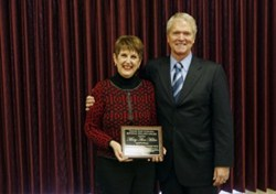 Congratulations to Mary Ann Miller on selection as 2013 recipient of KDE's Kevin Noland outstanding employee award