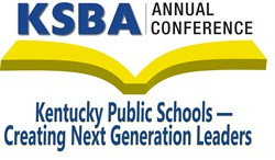 2014 KSBA Annual Conference theme set, ready for student artists to begin creating their banner masterpieces