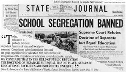 NSBA board adopts resolution, encourages local observations of 60th anniversary of historic U.S. Supreme Court education ruling