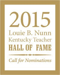 Western Kentucky University issues call for nominations for the 2015 Kentucky Teacher Hall of Fame class