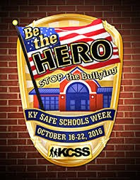 Kentucky Safe Schools Week will be Oct. 16–22; Center for School Safety puts the focus of observation on stopping bullying