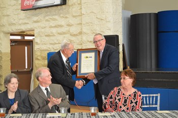 Barbourville Independent board member Buck Treadway retires after more than 55 years' service; longest current board tenure in Kentucky