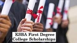 KSBA First Degree College Scholarship Program