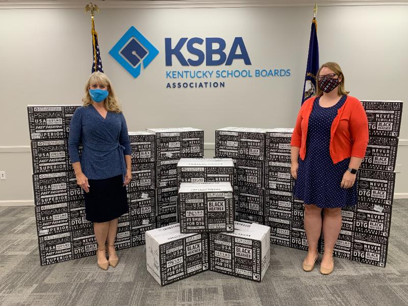 KSBA donates 80,000 masks to FRYSC