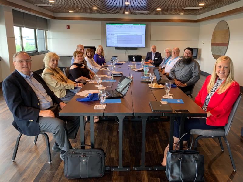 KSBAEF board meeting