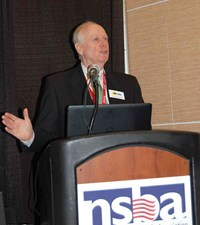 Director Ron Willhite led a workshop on KSBA's School Energy Managers Project.