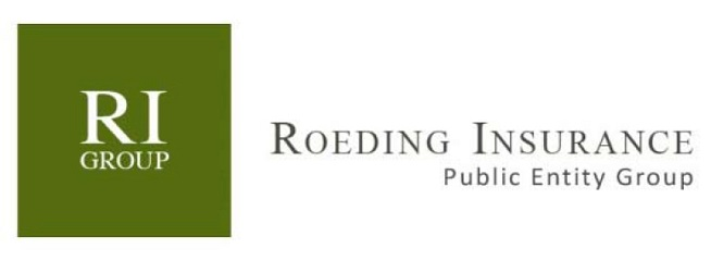 Roeding Insurance Group logo hunter green background
