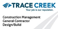 Trace Creek logo with tagline your job is our reputation