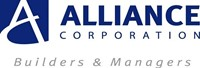 Alliance Corporation Logo text builders and managers