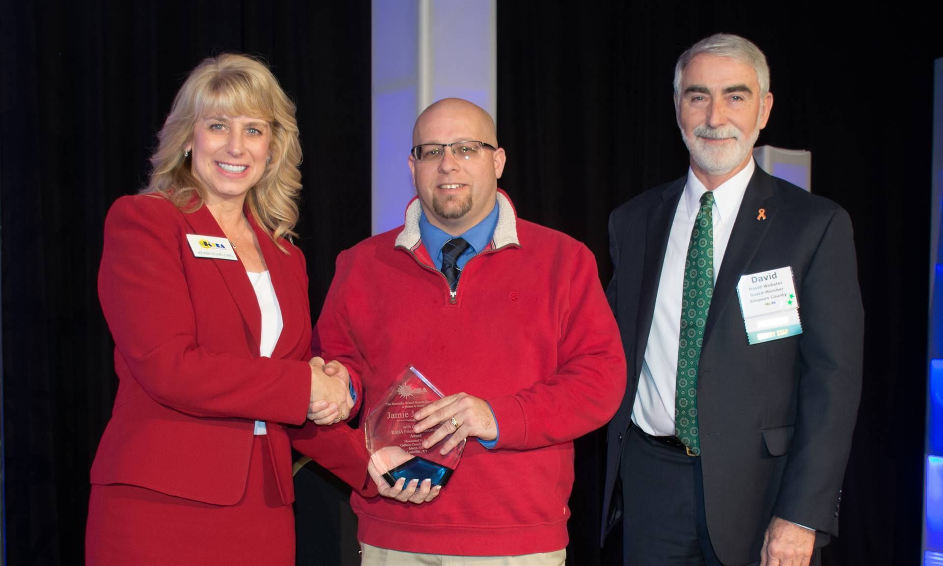 Annual Conference Friend of Education Award Winner