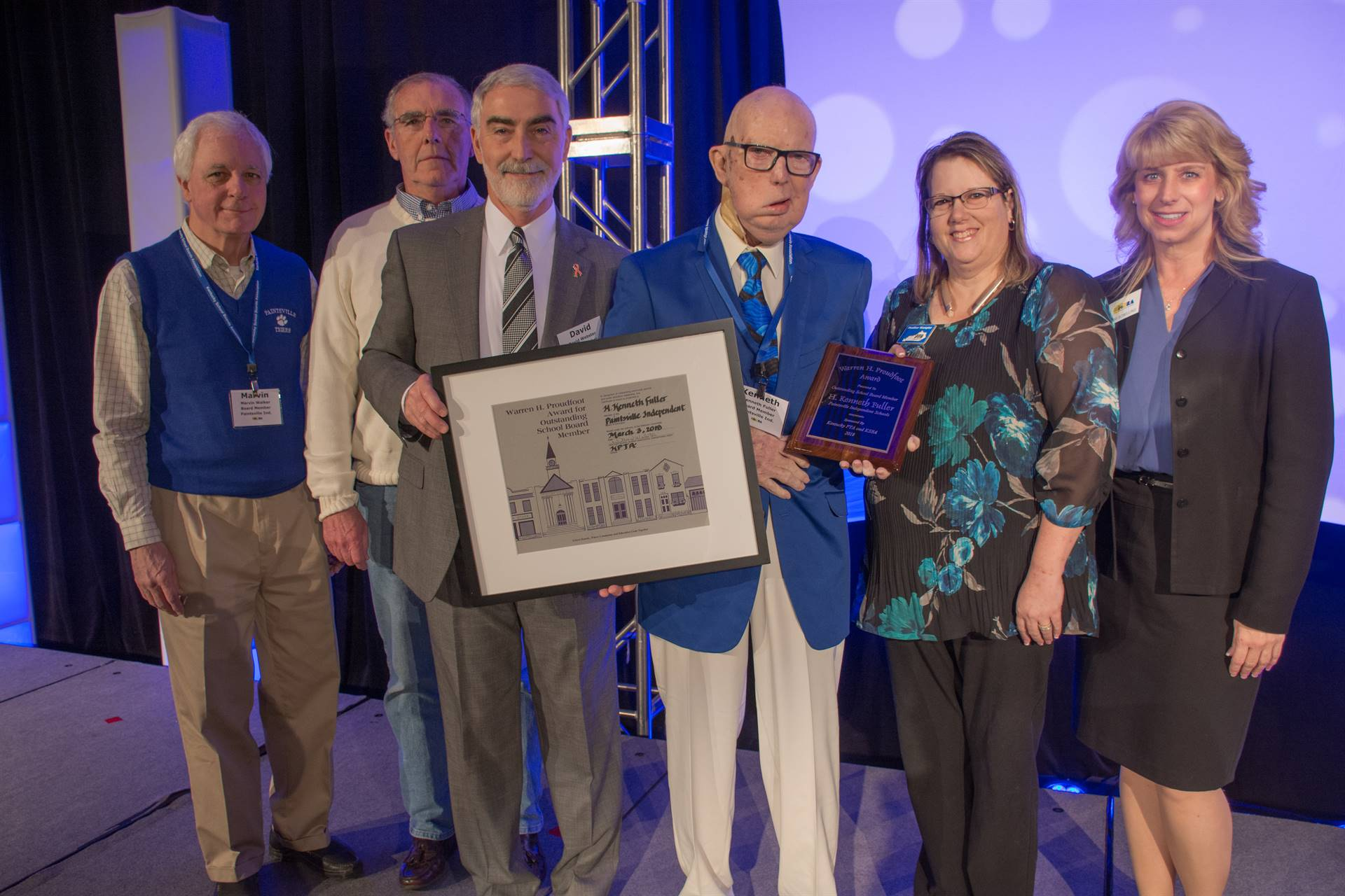 Annual Conference Proudfoot Outstanding Board Member Award Winner