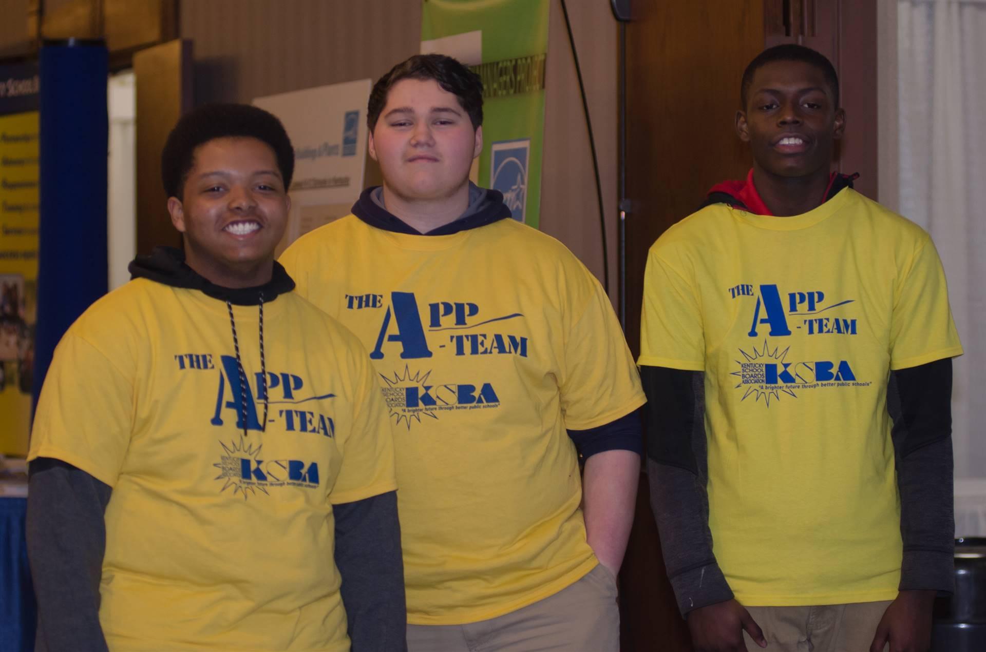 KSBA App Team from Louisville Central High School