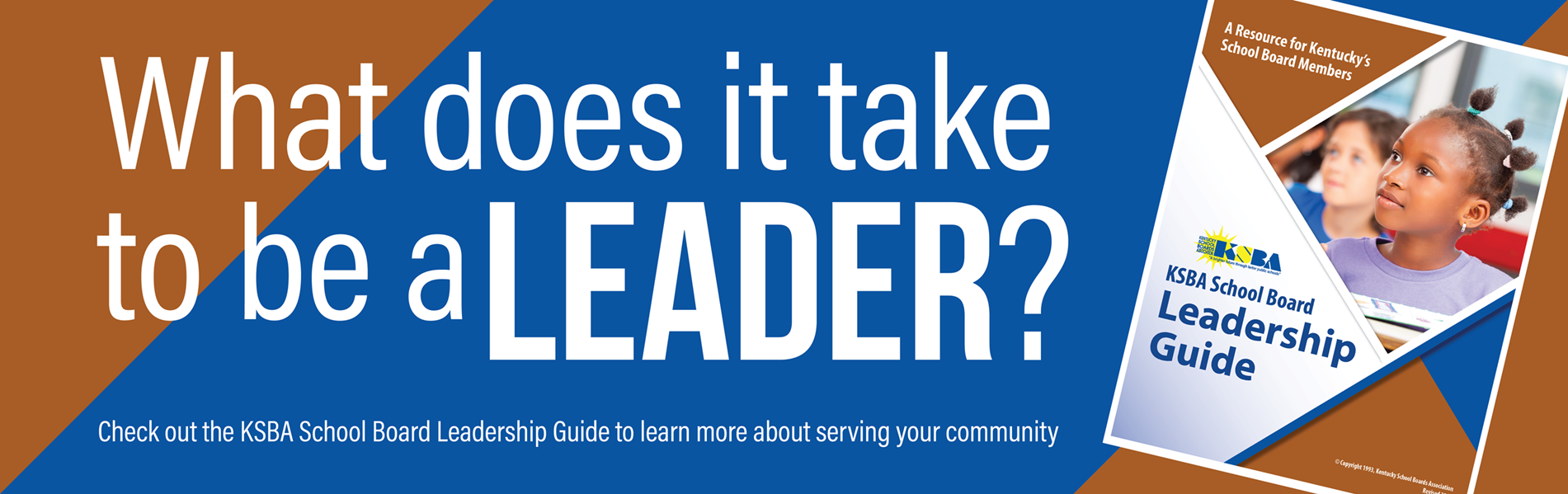 What does it take to be a school leader in your community?