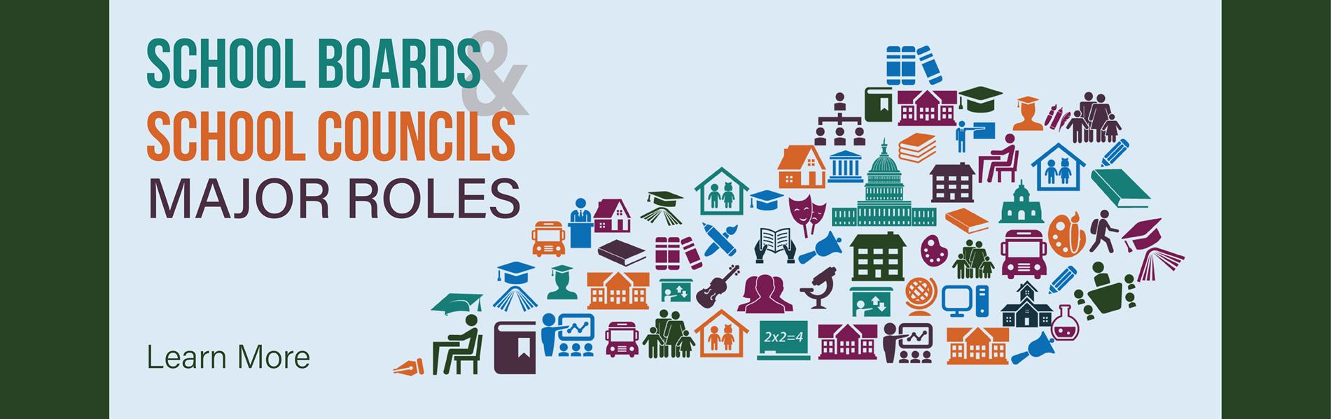 Major Roles of School Boards and School Councils