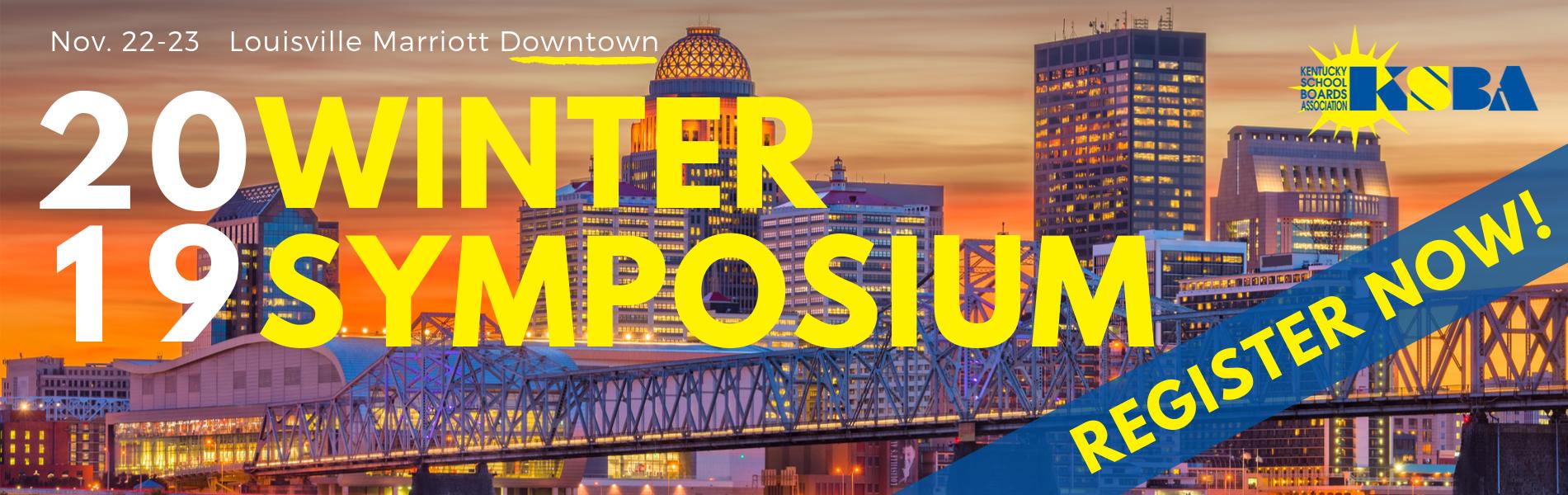 winter symposium 2019 - register now