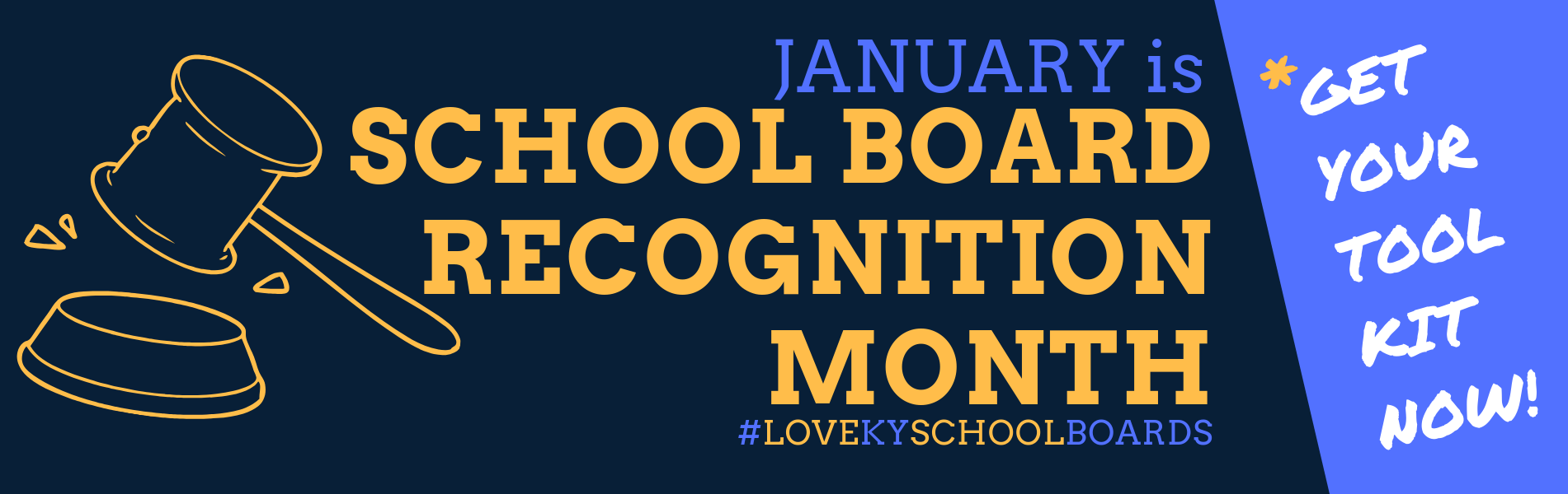 School Board Recognition Month tool kit