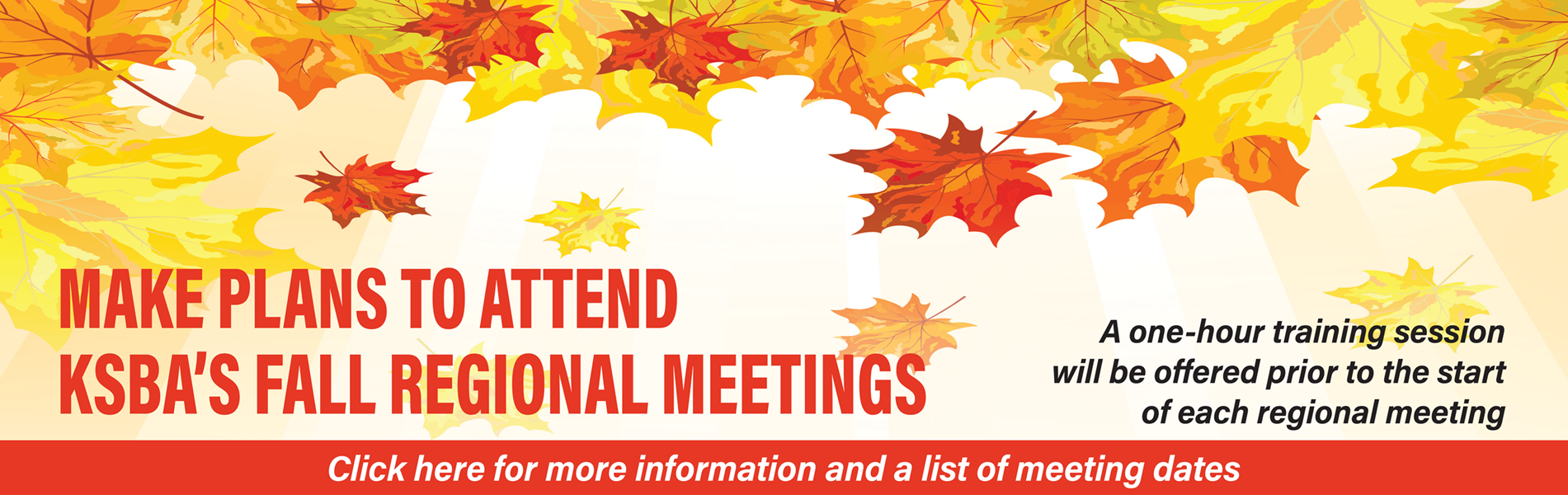 2019 fall regional meetings