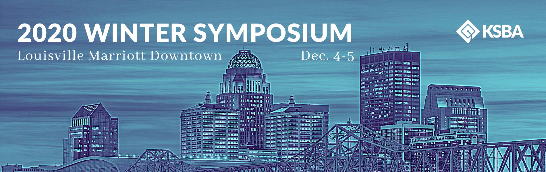 2020 Winter Symposium