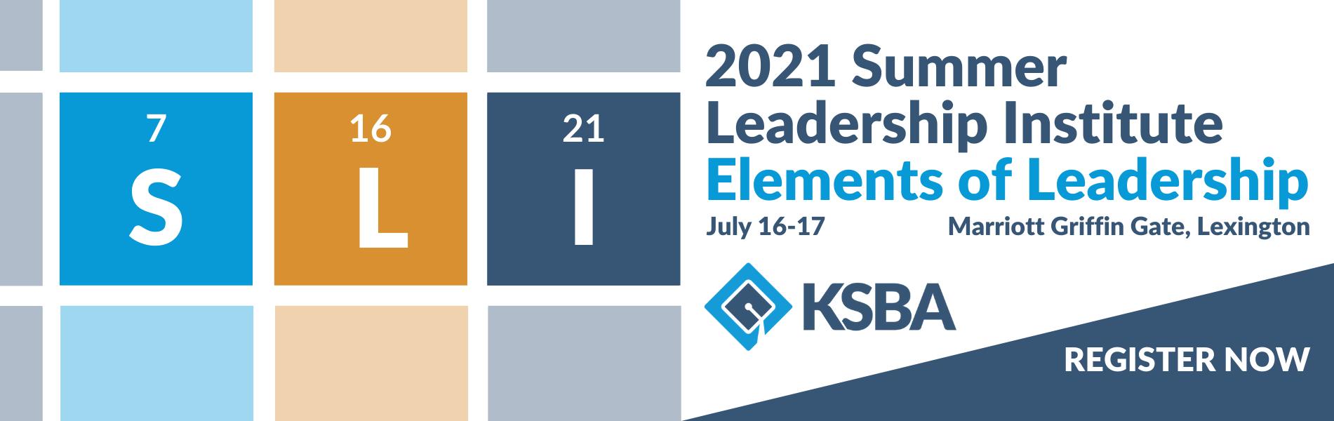 2021 Summer Leadership Institute