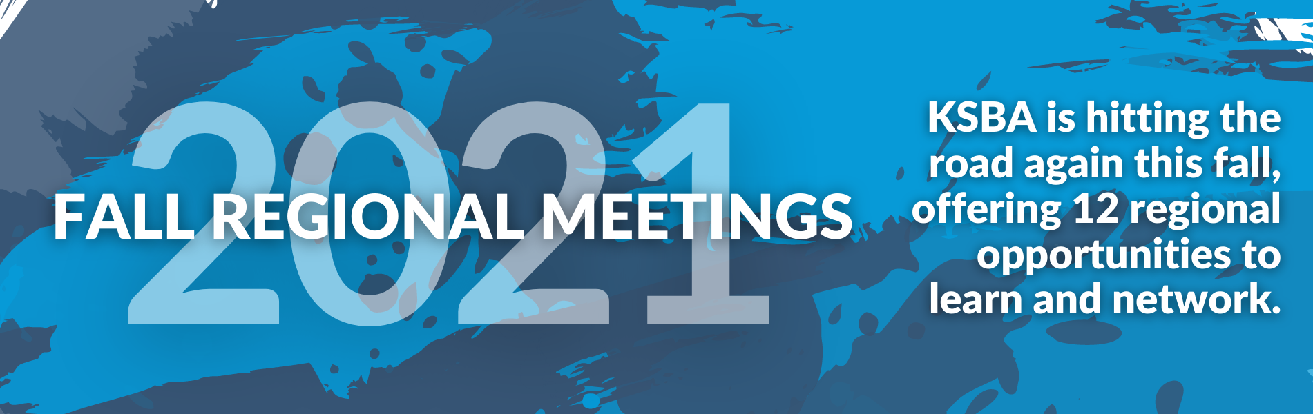 2021 regional meetings