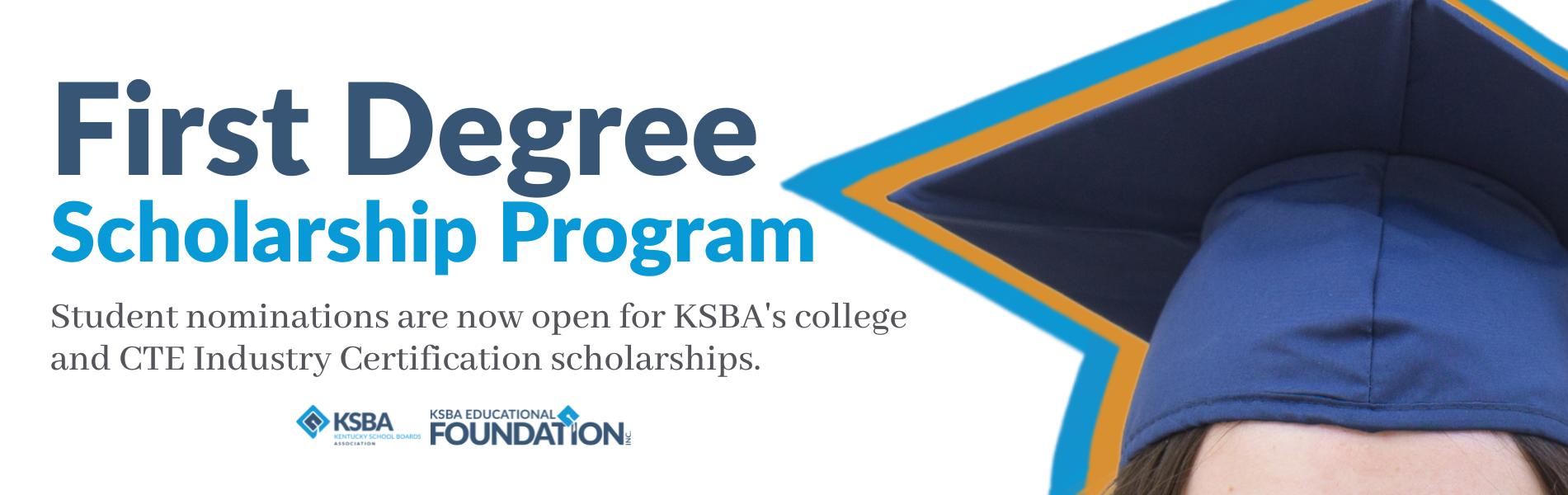 first degree scholarship program