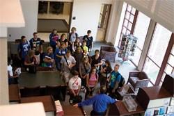 Eminence F.I.R.E.s up students