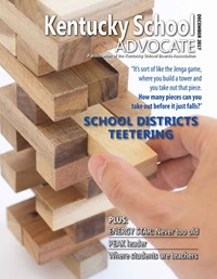 Cover of December 2017 Kentucky School Advocate magazine