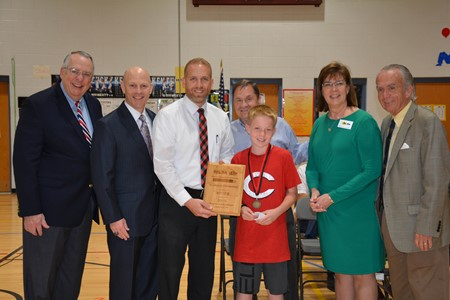 Southside Elementary celebrates being winner of Kentucky's Battle of the School Buildings
