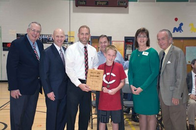 KSBA-SEMP presented the first place award during a ceremony at Southside Elementary School.