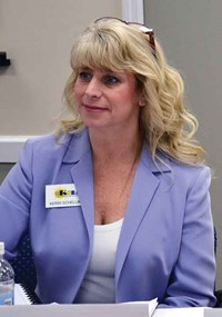 KSBA Executive Director Kerri Schelling