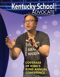 Cover of March 2018 Kentucky School Advocate magazine