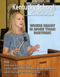 Cover of June 2018 Kentucky School Advocate magazine
