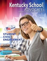 Cover of September 2018 Kentucky School Advocate magazine