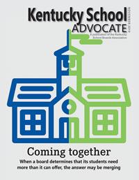 Cover of November 2019 Kentucky School Advocate magazine