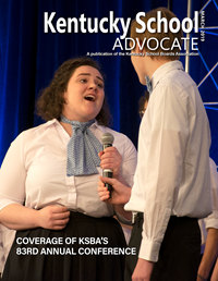 Cover of March 2019 Kentucky School Advocate magazine