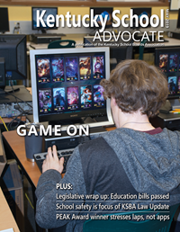 Cover of May 2019 Kentucky School Advocate magazine