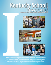 July/August Advocate cover