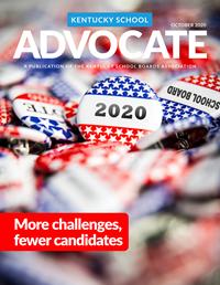 Cover of October 2020 Kentucky School Advocate magazine