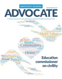 2020 November Advocate cover