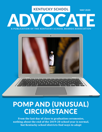 Cover of May 2020 Kentucky School Advocate magazine