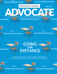 Cover of June 2020 Kentucky School Advocate magazine