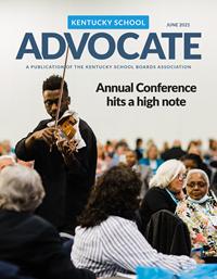 Cover of June 2021 Kentucky School Advocate magazine