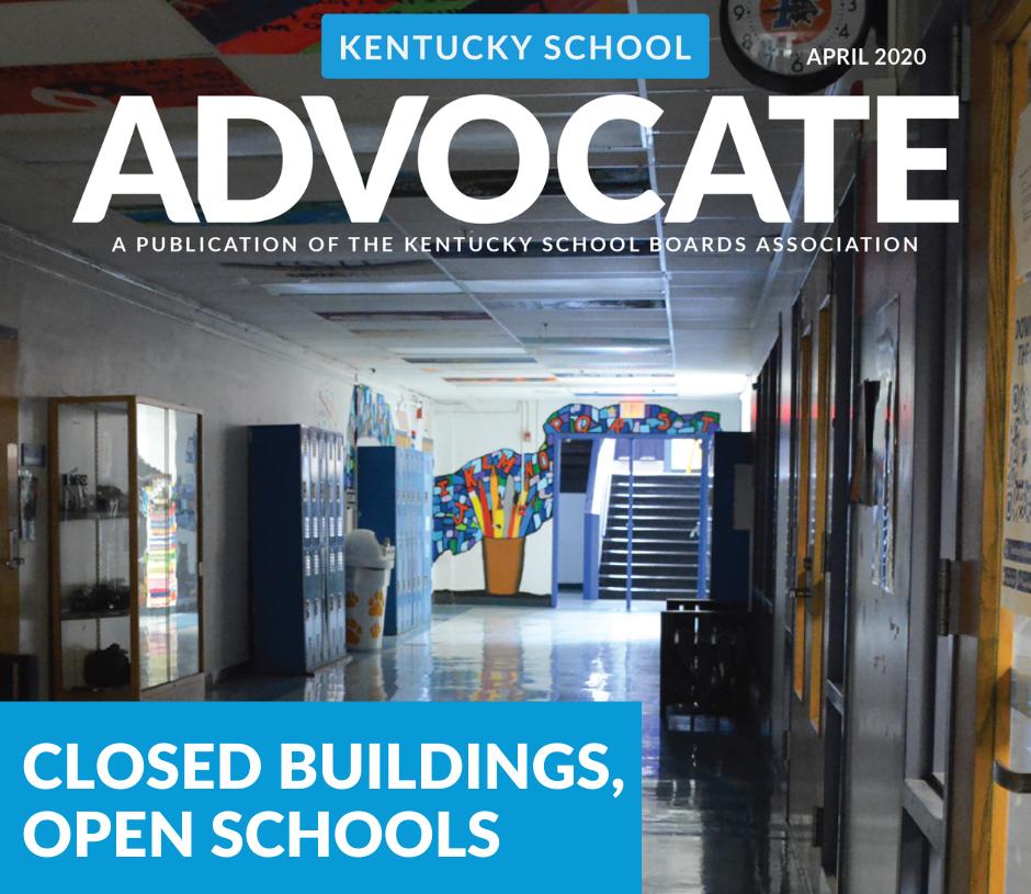 April Advocate cover